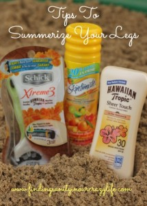 Mom Tips for Summer Legs on the Go