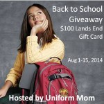 August Lands End Back to School Giveaway