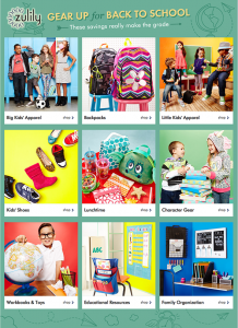 Save on Back to School at Zulily