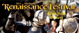 Michigan Ren Fest 2014 Ticket Giveaway
