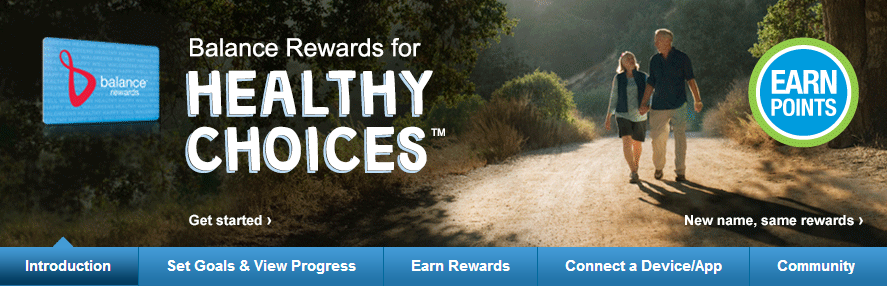 Balance Rewards for healthy choices™   Walgreens