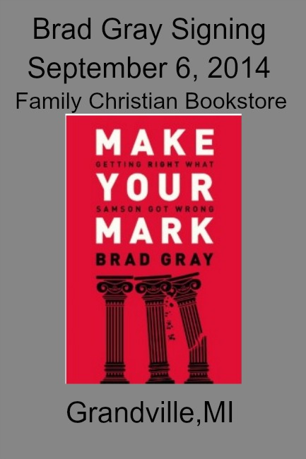 Brad Gray Book Signing