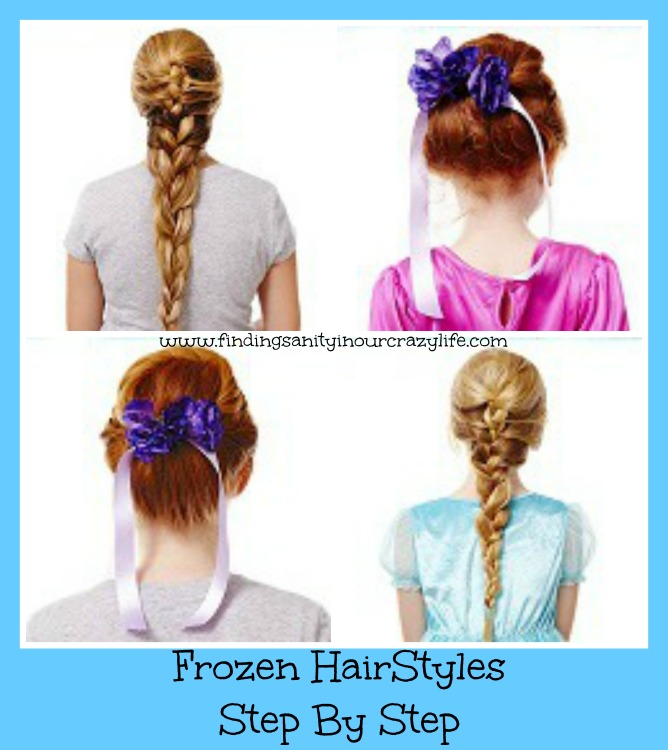 Frozen Hairstyles