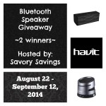 Havit Bluetooth Speaker Giveaway
