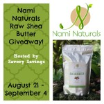 Nami Natural Raw Shea Butter Giveaway