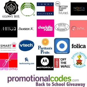 PromotionalCode.com Back to School Giveaway