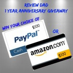 $100 Anniversary Giveaway