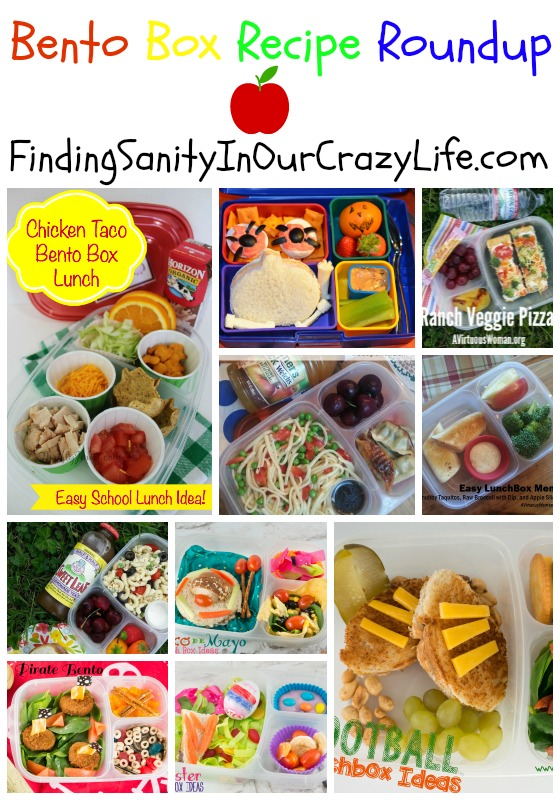 get ready for back to school with this bento box recipes roundup finding sanity in our crazy life. Black Bedroom Furniture Sets. Home Design Ideas
