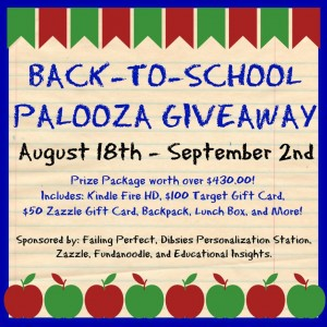Back to School Giveaway Palooza