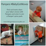 See Why My Pampers #BabyGotMoves and Giveaway