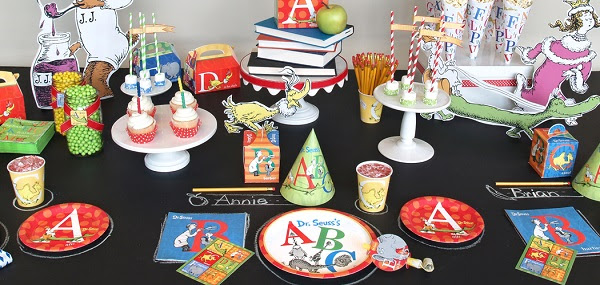 Dr Seuss ABC Birthday Party