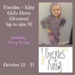Freckles and Kitty Girl's Dress Giveaway