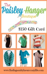 The Paisley Hanger Boutique Gift Card Giveaway