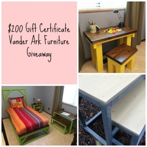 Vander Ark Furniture Giveaway