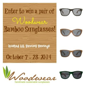 Woodwear Bamboo Sunglasses Giveaway