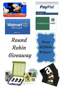 October Round Robin Giveaway