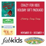 Crazy for Kids Holiday Gift Package Giveaway