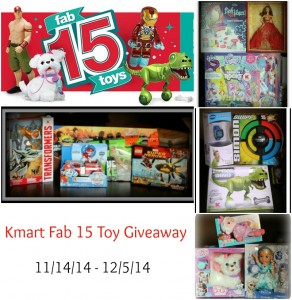 Kmart Fab 15 Toy Giveaway