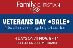 Family Christian Veterans Day Sale