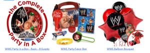 WWE Party Ideas and Live Event Giveaway