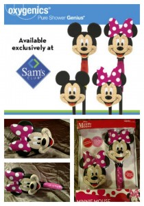 Minnie or Mickey Mouse Showerhead Giveaway #2014HGG