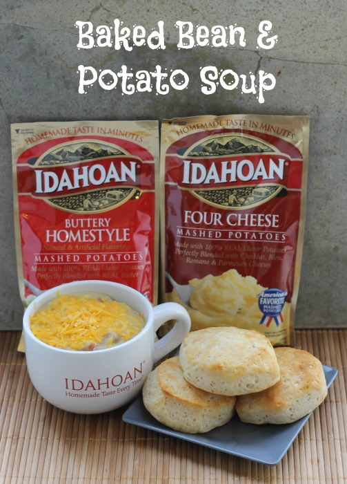 Baked Bean & Potato Soup 10
