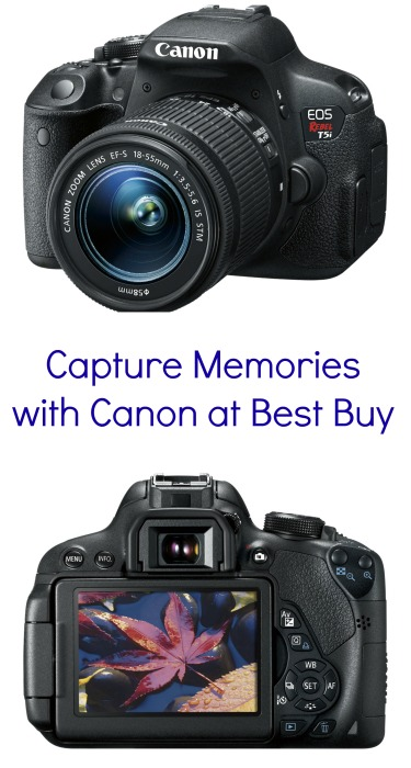 Capture Memories with Canon