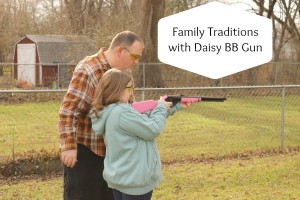 Family Traditions and Cool Christmas Gifts = a Daisy BB Gun