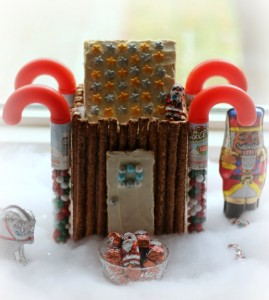 North Pole SweetWorks Candy Display and Cottage