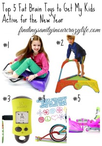 Top 5 Fat Brain Toys to Get My Kids Active for the New Year