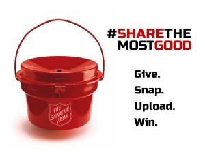 #ShareTheMostGood Social Media Contest hosted by The Salvation Army