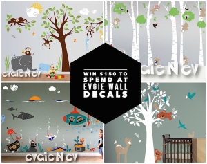 Evgie Wall Decals #2015HGG Giveaway