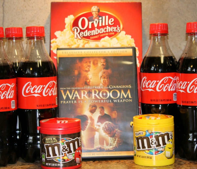 Family Movie Night with Coca Cola