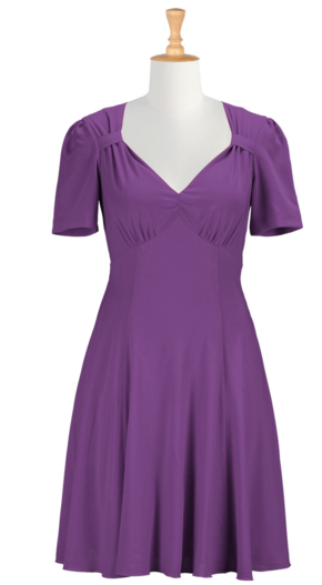 Forties_Style_Retro_Crepe_Dress