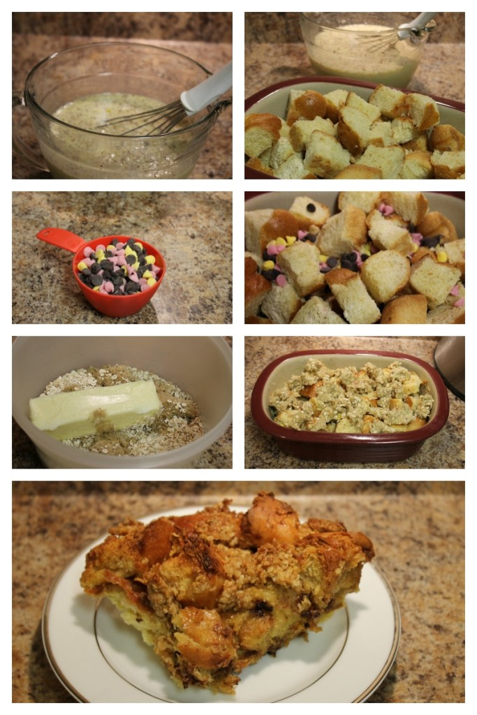 Instructions for Chocolate Chip French Toast Bake
