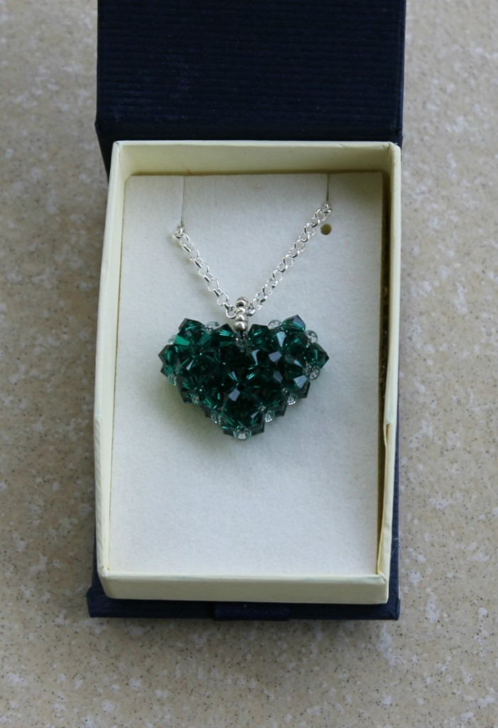 Jewels For Hope Charity Heart Necklace