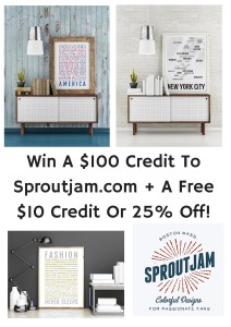 Sproutjam Giveaway #2015HGG