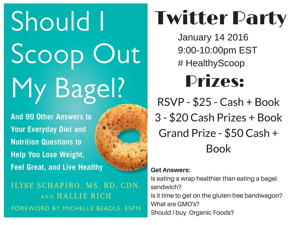 Should I Scoop Out My Bagel Twitter-Party