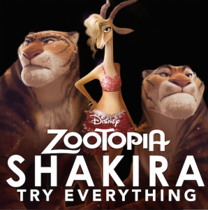 "New Shakira Music Video ""Try Everything"", An Original Song from ZOOTOPIA"