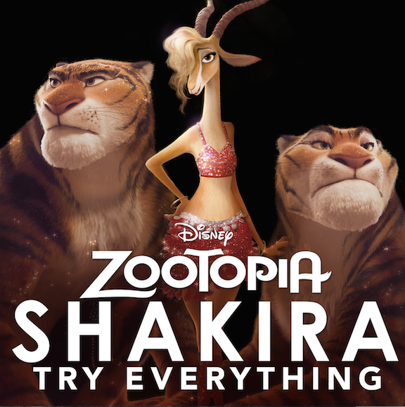 Zootopia Shakira New Music Video