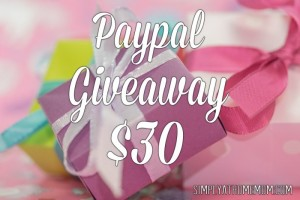 $30 Paypal Giveaway