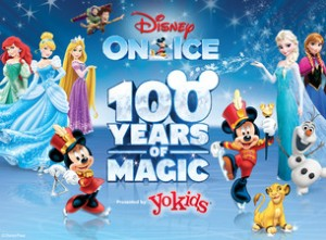 Disney on Ice 100 Years of Magic at The Palace of Auburn Hills Giveaway