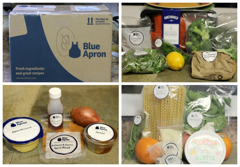 Blue Apron Fresh Ingredients and Great Recipes