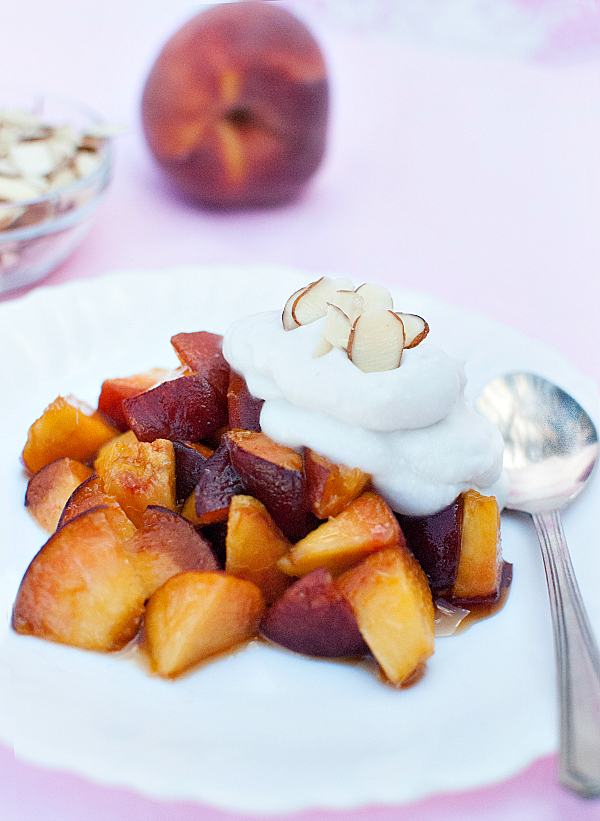 Brown-Sugar-Peaches-with-Coconut-Whipped-Cream