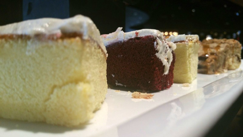 Desserts at Granite City Food and Brewery