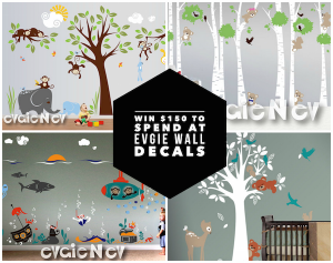 February Evgie Wall Decals Giveaway