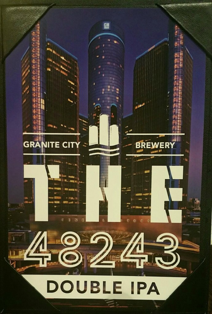 Granite City Food and Brewery Detroit