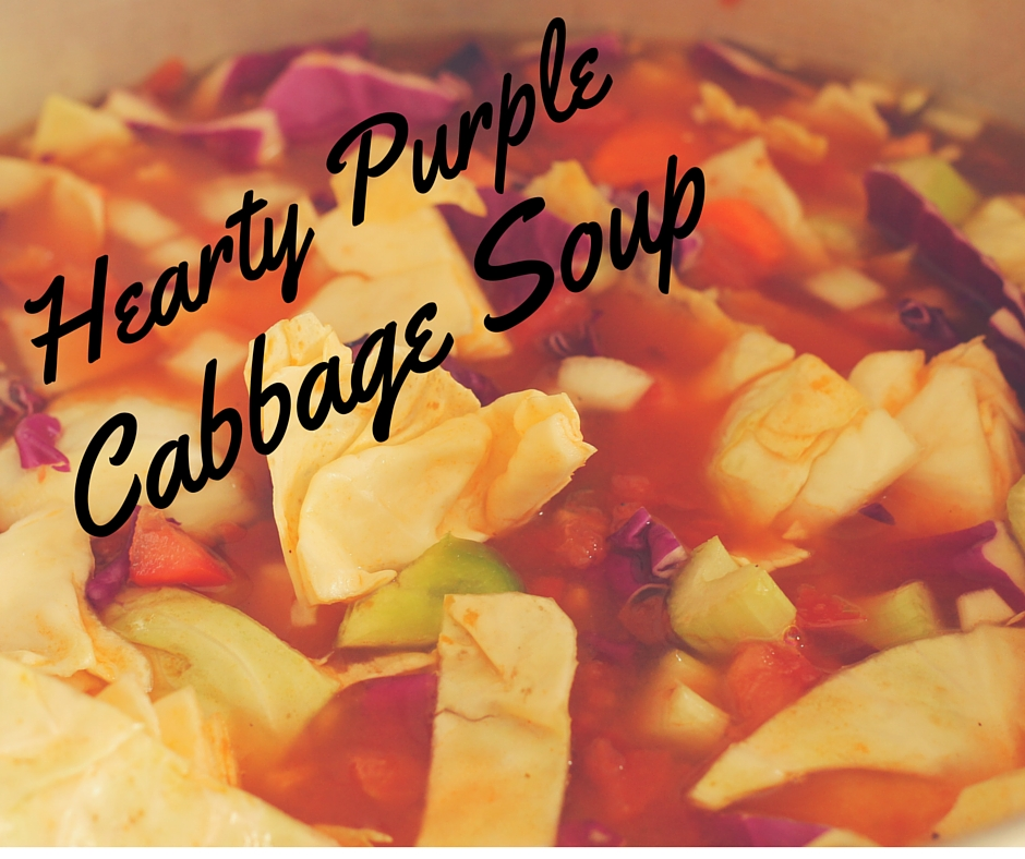 Hearty Purple Cabbage Soup