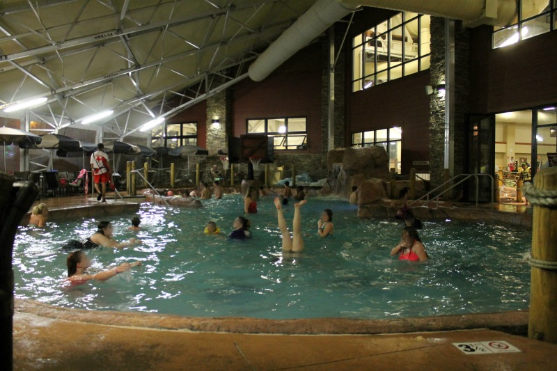 Beat the winter blues at wilderness at the smokies - Opening a swimming pool after winter ...