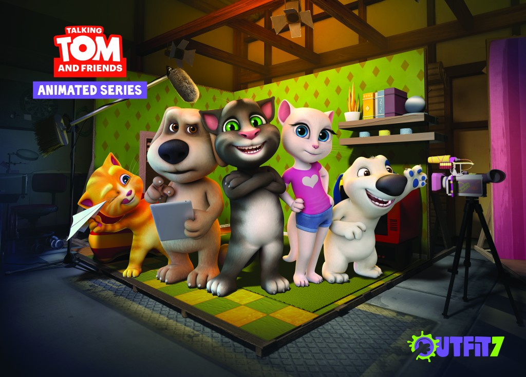 Talking Tom and Friends cast
